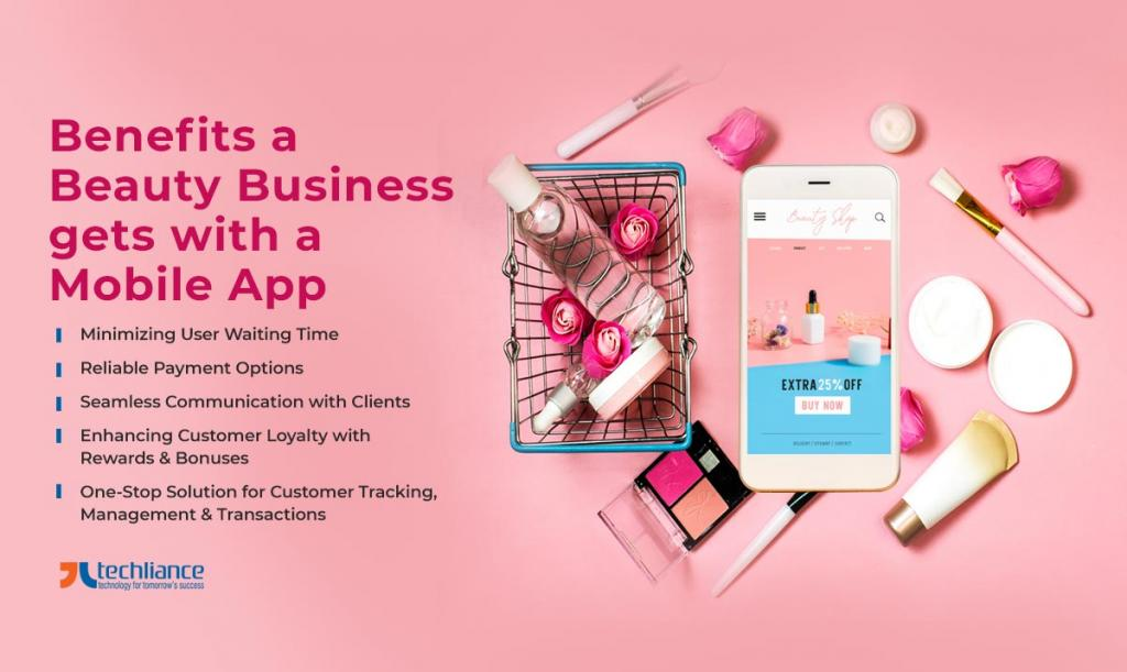 Benefits a Beauty Business gets with a Mobile App
