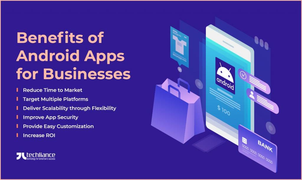 Benefits of Android Apps for Businesses