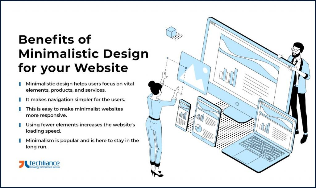 Benefits of Minimalistic Design for your Website