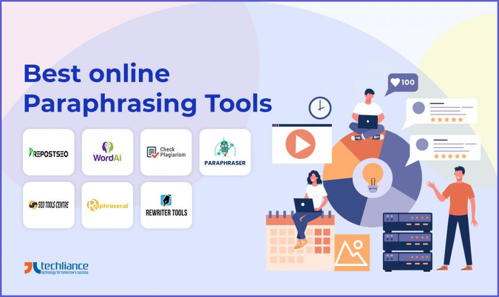 Best online Paraphrasing Tools