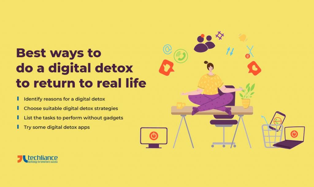 Best ways to do a digital detox to return to real life
