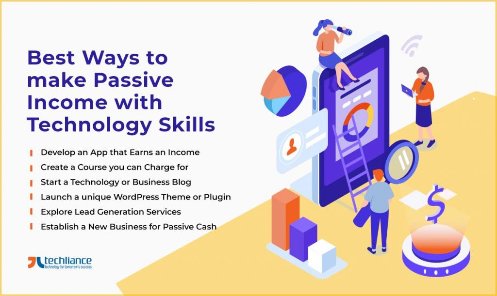 Best Ways to make Passive Income with Technology Skills