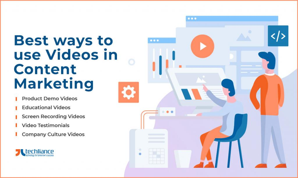 Best ways to use Videos in Content Marketing