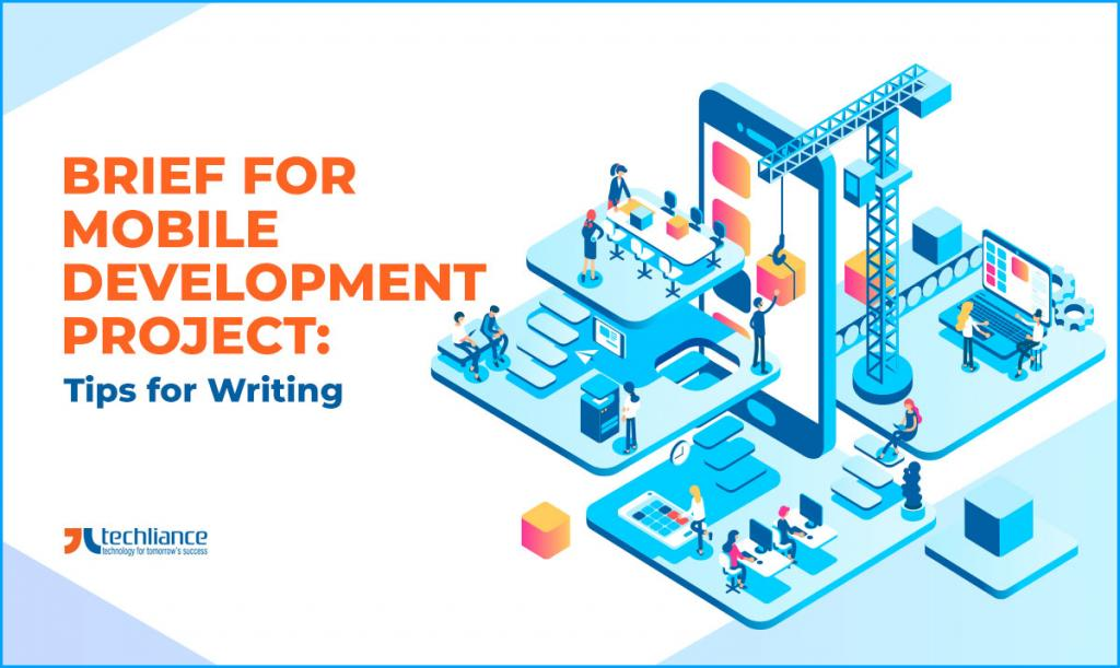 Brief for Mobile Development project - Tips for Writing