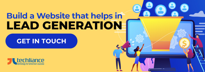 Build a Website that helps in Lead Generation