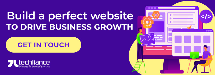 Build a perfect website to drive business growth