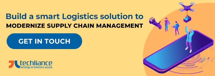 Build a smart Logistics solution to modernize Supply Chain management