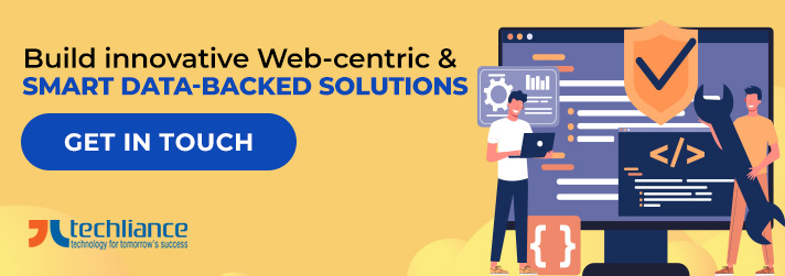 Build innovative Web-centric and smart Data-backed solutions