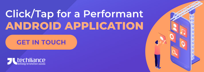 Click or Tap for a Performant Android Application