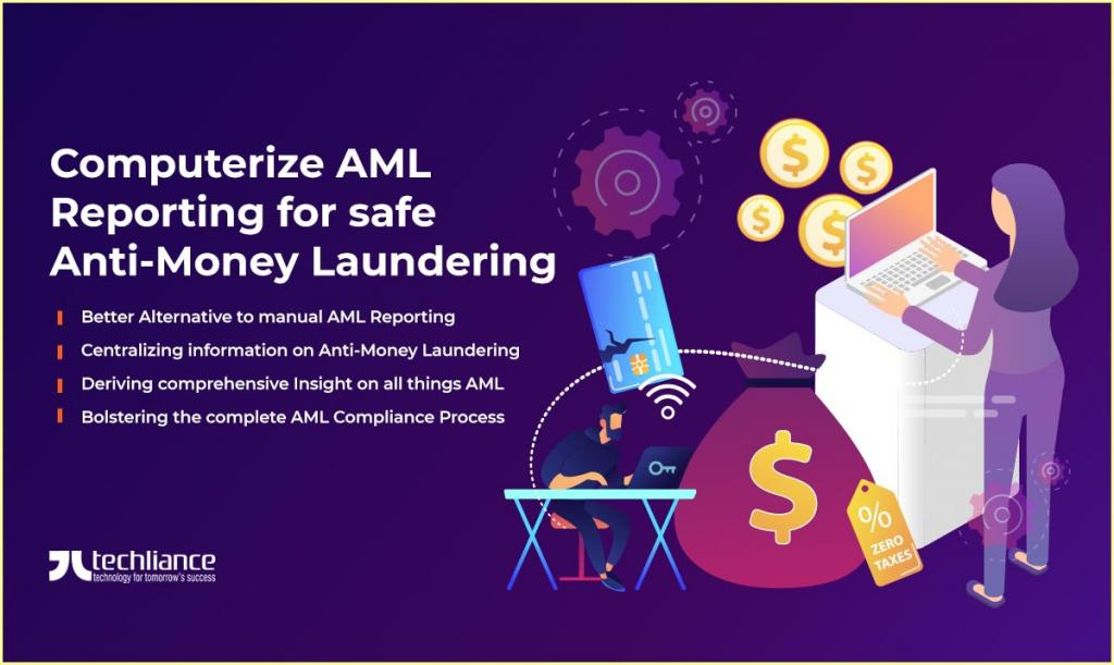 Computerize AML Reporting for safe Anti-Money Laundering