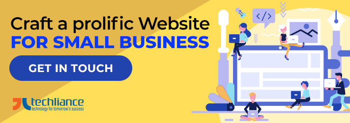 Craft a prolific Website for Small Business