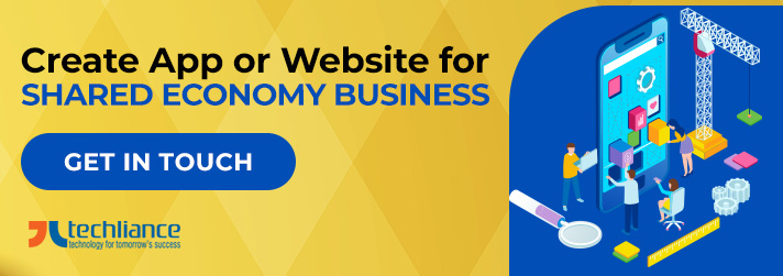 Create App or Website for Shared Economy Business