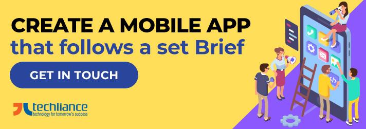 Create a Mobile App that follows a set Brief