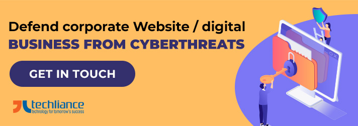 Defend corporate Website / digital Business from Cyberthreats
