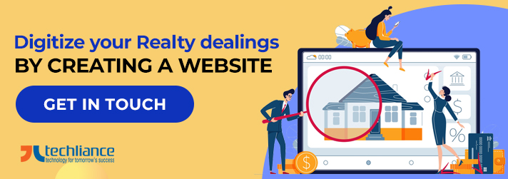 Digitize your Realty dealings by creating a Website