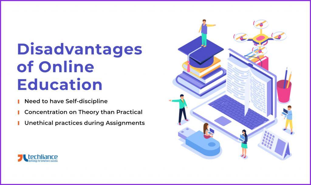 Disadvantages of Online Education