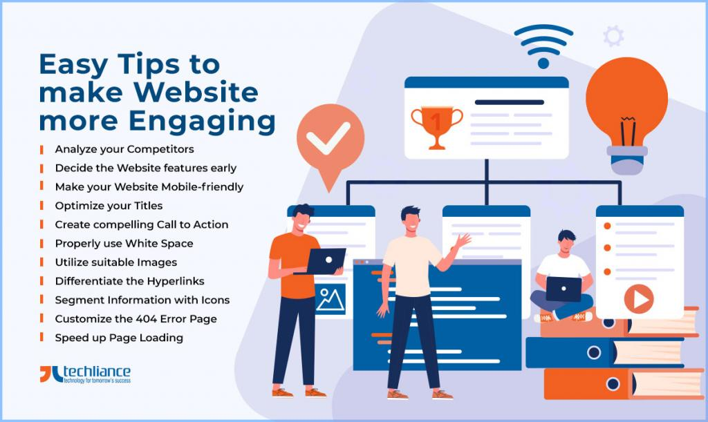 Easy Tips to make Website more Engaging