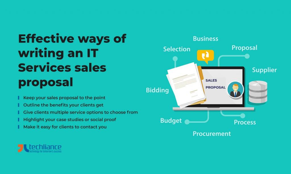 Effective ways of writing an IT Services sales proposal