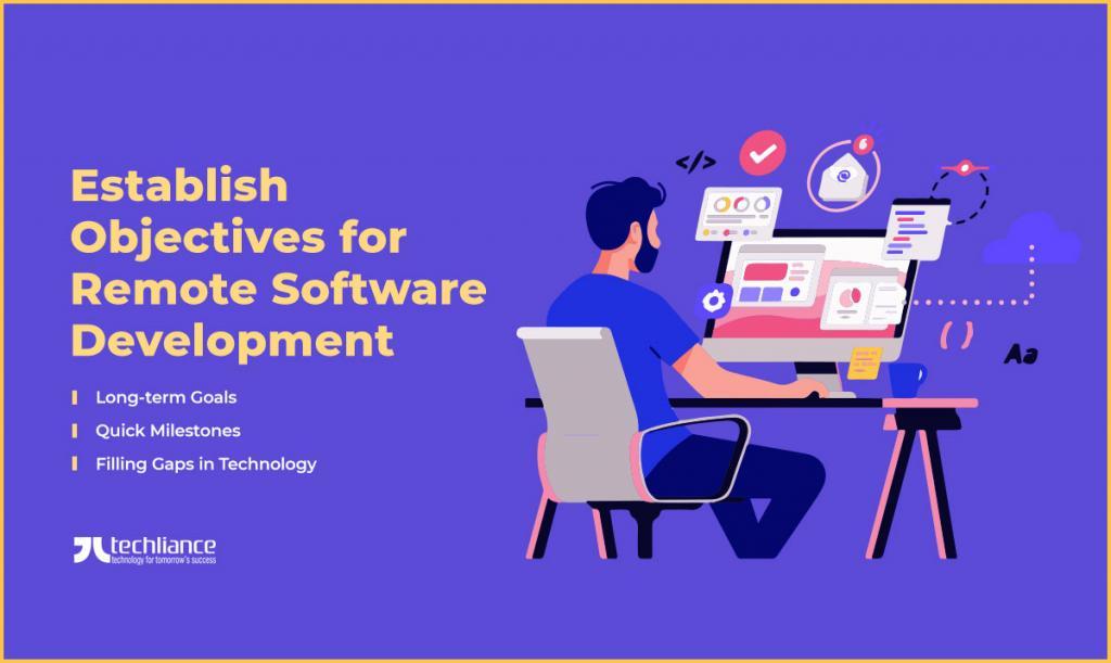 Establish Objectives for Remote Software Development