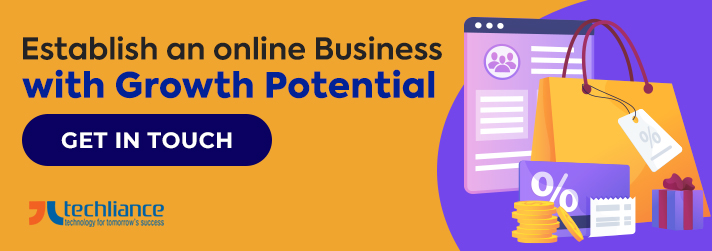 Establish an online business with growth potential