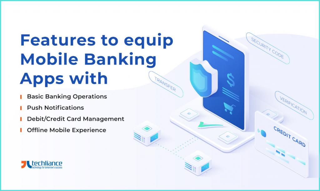 Features to equip Mobile Banking Apps with