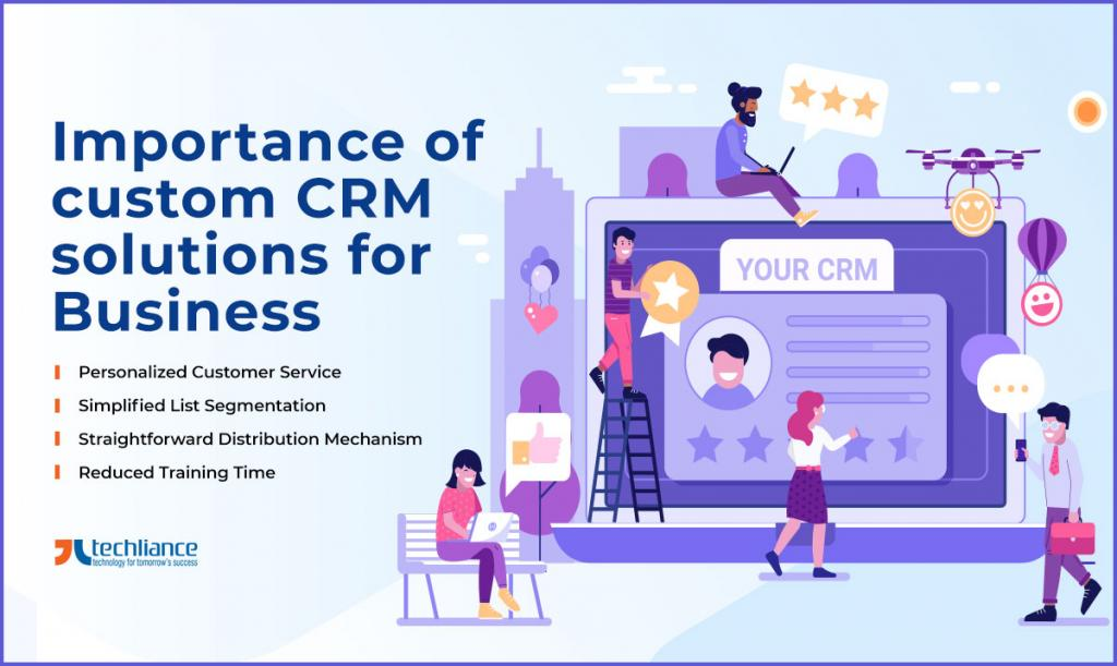 Importance of custom CRM solutions for Business growth