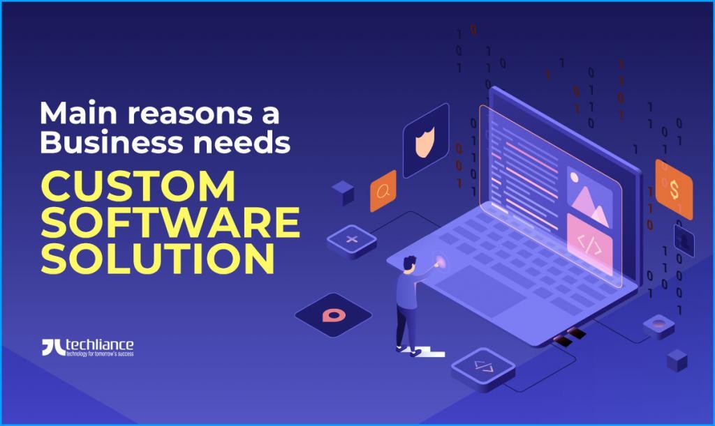 Main reasons a Business needs Custom Software Solution