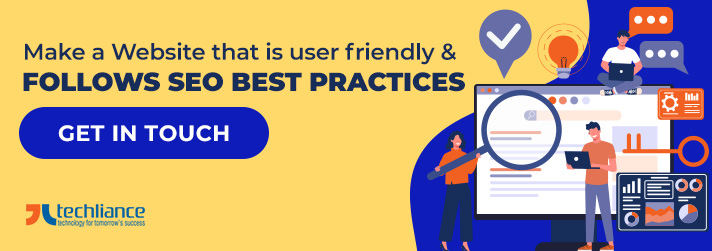 Make a Website that is user friendly and follows SEO best practices