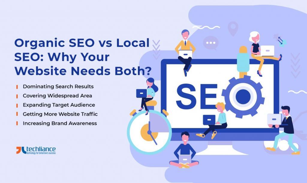 Organic SEO vs Local SEO - Why Your Website Needs Both