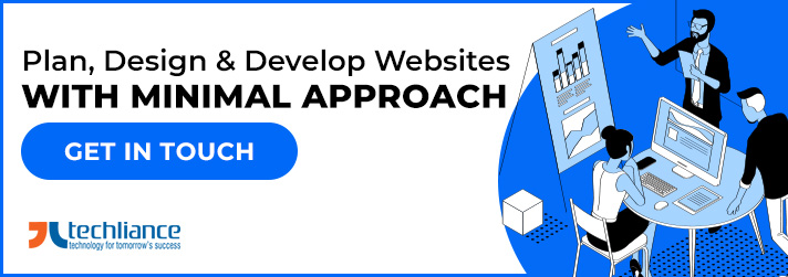 Plan, Design and Develop Websites with Minimal approach