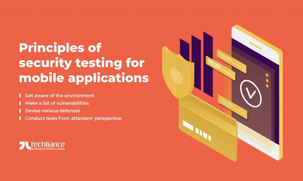Principles of security testing for mobile applications
