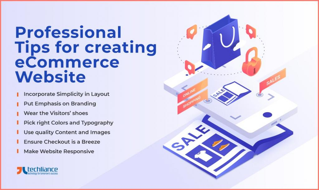 Professional Tips for creating eCommerce Website