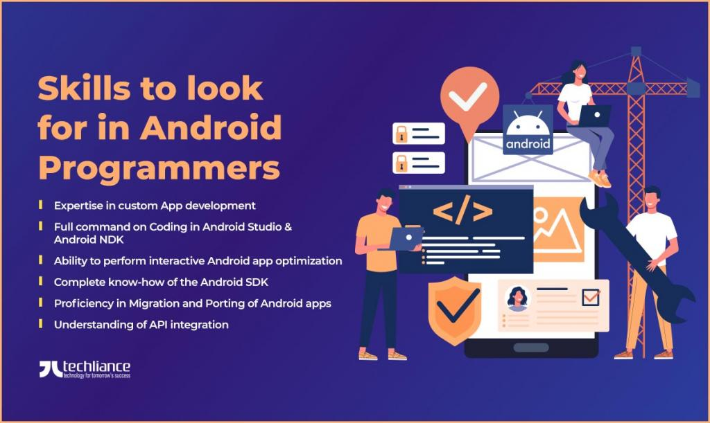 Skills to look for in Android Programmers