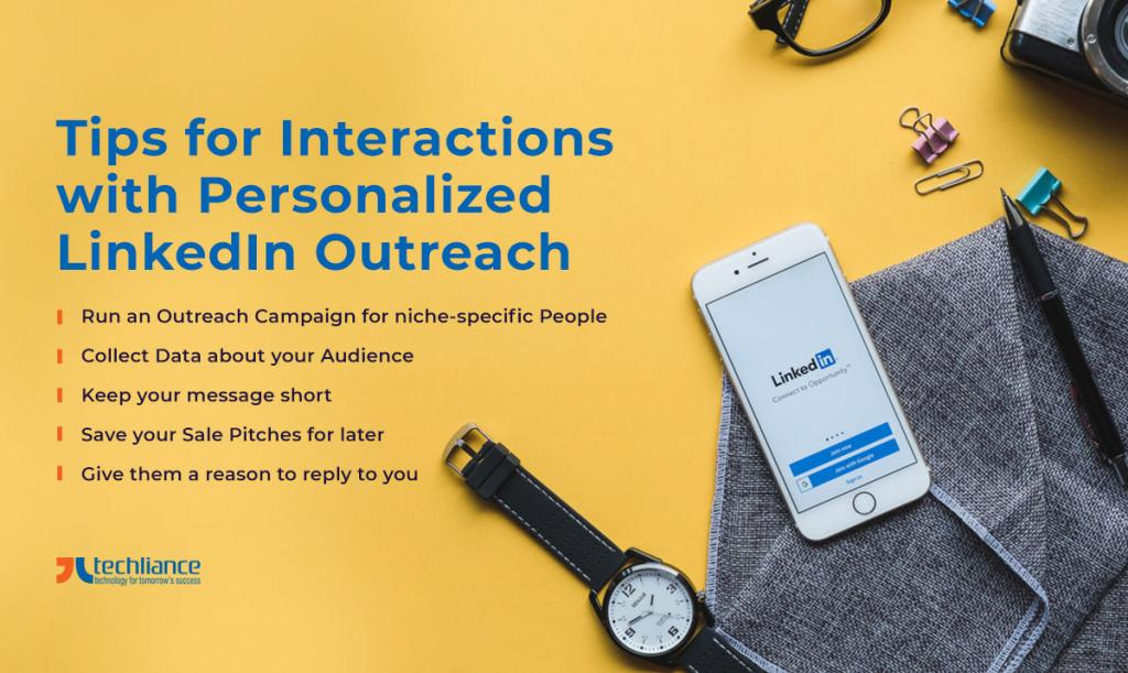 Tips for Interactions with Personalized LinkedIn Outreach