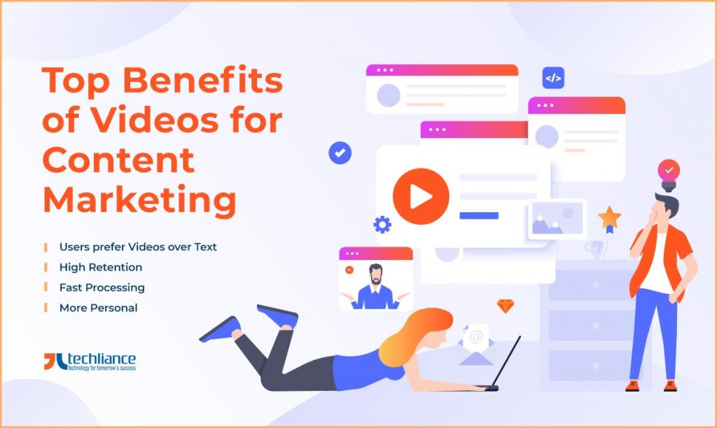 Top Benefits of Videos for Content Marketing