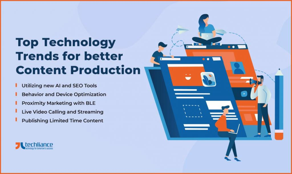 Top Technology Trends for better Content Production