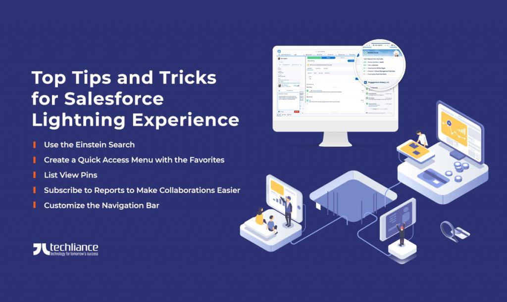 Top Tips and Tricks for Salesforce Lightning Experience