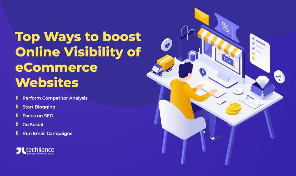 Top Ways to boost Online Visibility of eCommerce Websites