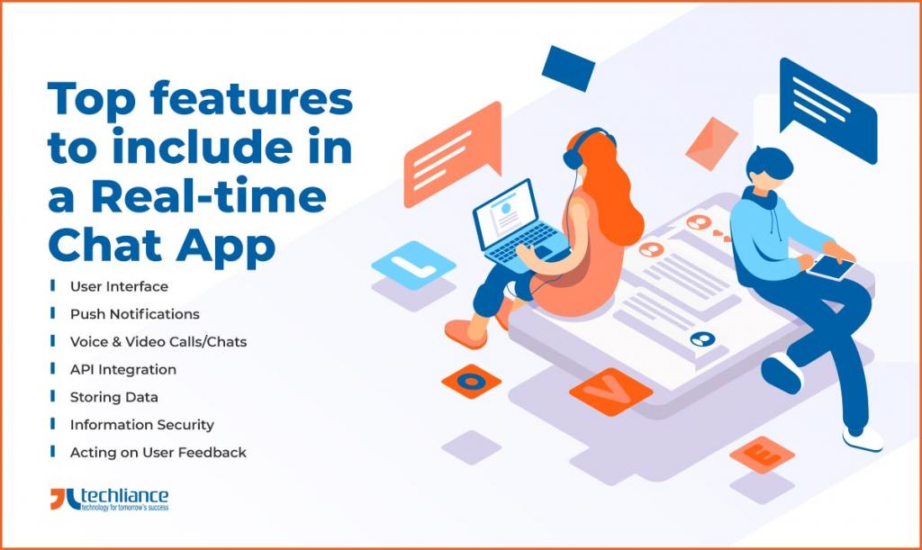 Top features to include in a Real-time Chat App