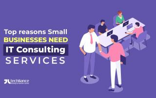 Top reasons Small Businesses need IT Consulting services