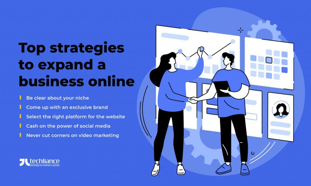 Top strategies to expand a business online
