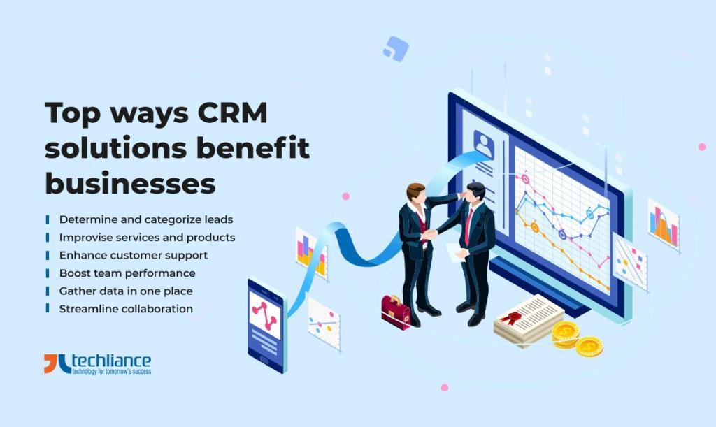 Top ways CRM solutions benefit businesses