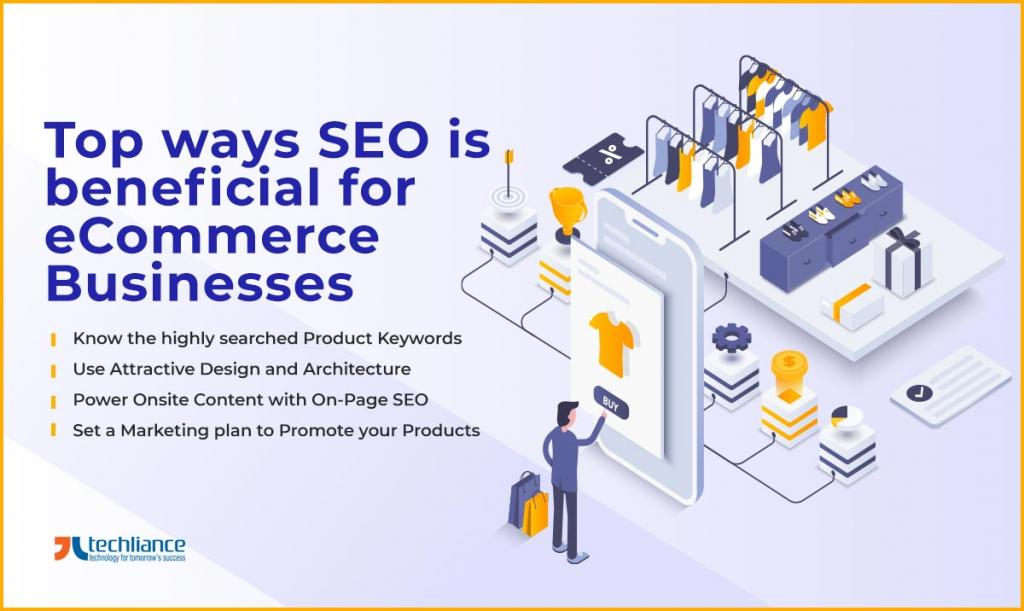 Top ways SEO is beneficial for eCommerce Businesses