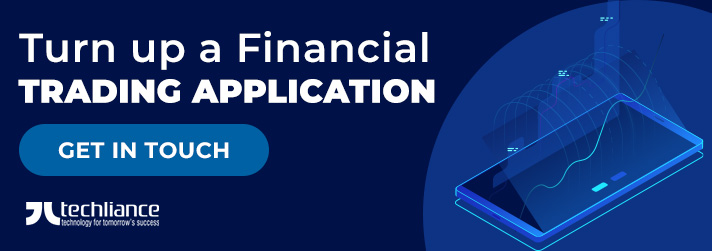Turn up a Financial Trading application