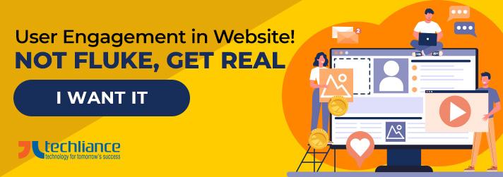 User Engagement in Website