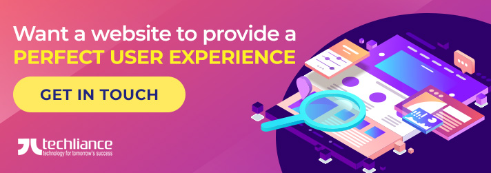 Want a website to provide a perfect user experience