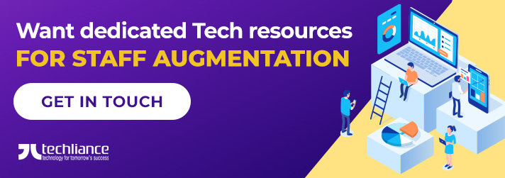Want dedicated Tech resources for staff augmentation