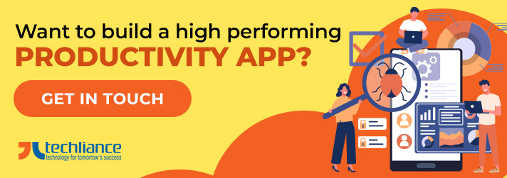 Want to build high performing Productivity app