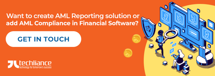 Want to create AML Reporting solution or add AML Compliance in Financial Software