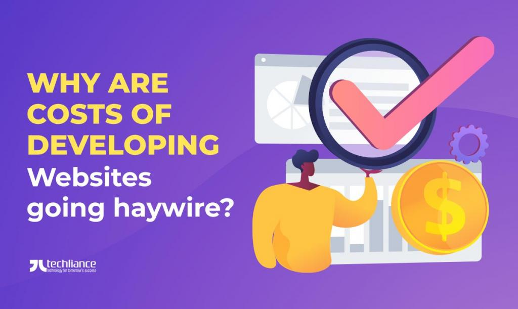 Why are costs of developing websites going haywire